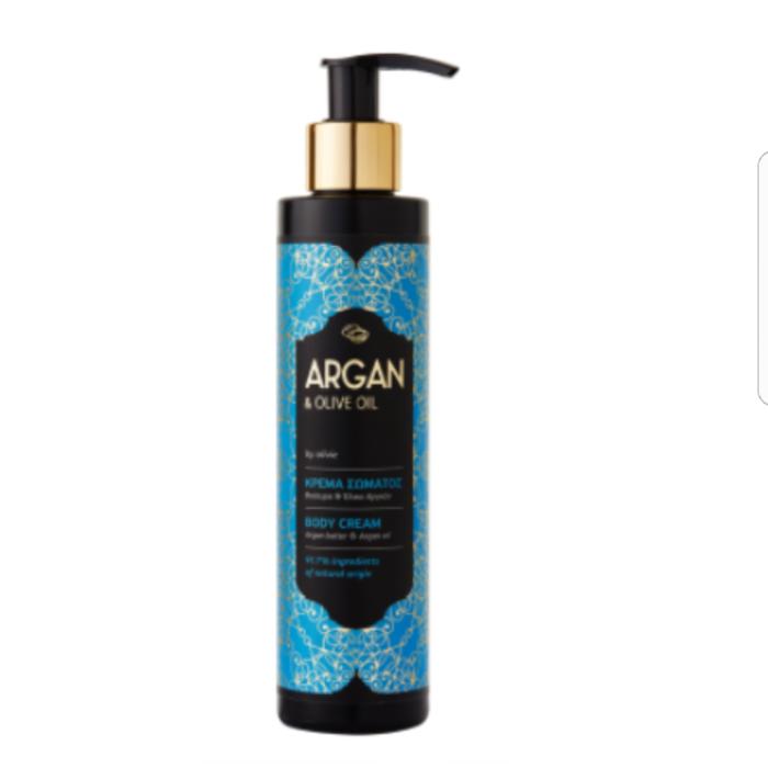 Argan kropps krem organisk oliven olje 200 ml
