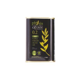 Physis of Crete ekstra virgin olivenolje passer til salater matlaging organisk olivenolje 0,2 100 ml