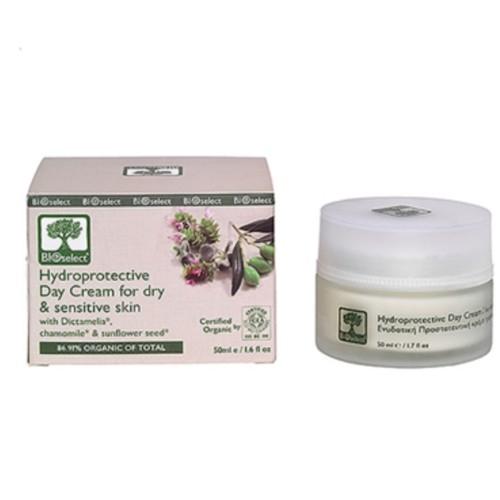 Bioselect ansiktkrem for Tørr og sensitiv hud 50 ml organisk produkt