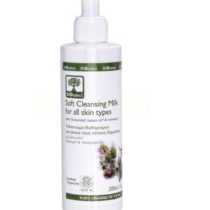 Bioselect mild rensemelk for alle hudtyper 200 ml