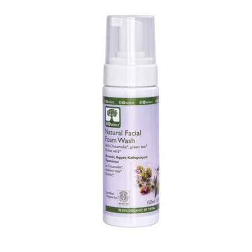 Bioselect skum ansikt rens 150 ml økologisk