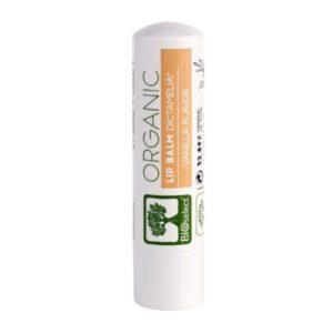 Bioselect lip balsam vanilje smak 4,4g