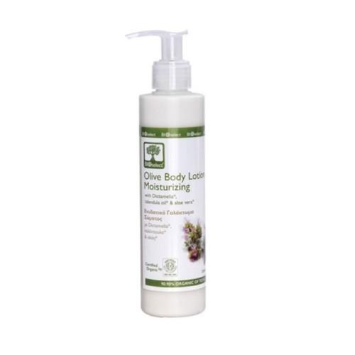 Bioselect oliven kroppskrem fukter huden organsikt 200ml