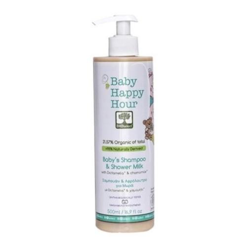 Bioselect Baby Happy Hour shampoo og kroppssåpe 500 ml Organisk